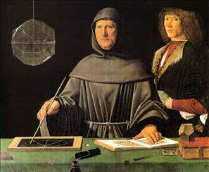Portrait of Fra Luca Pacioli and an Unknown Young Man