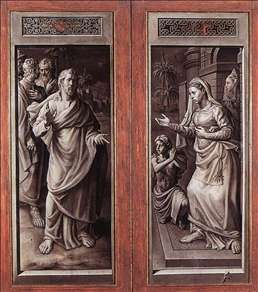 Triptych of the Micault Family (closed)