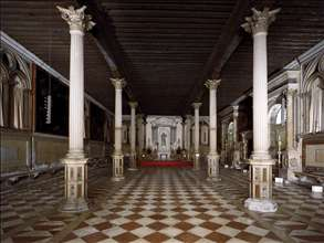 View of the Sala Inferiore
