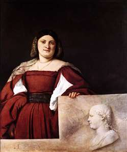 Portrait of a Woman (La Schiavona)