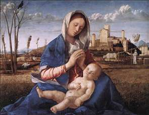 Madonna of the Meadow (Madonna del prato)