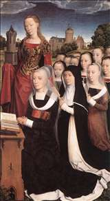 Triptych of the Family Moreel (right wing)