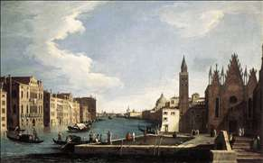 The Grand Canal with the Church of La Carit�