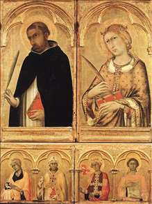 Polyptych of Santa Caterina