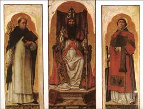 Sts Dominic, Augustin, and Lawrence