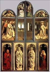 The Ghent Altarpiece (wings closed)