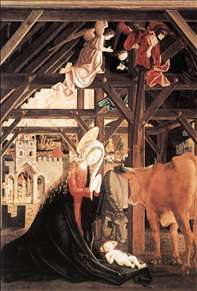 St Wolfgang Altarpiece: Nativity