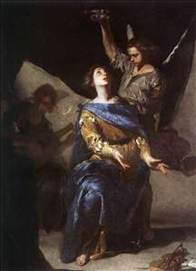 The Ecstasy of St Cecilia