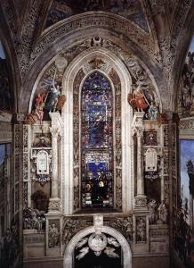 View of the Strozzi Chapel