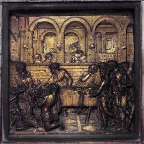 donatellos first david Donatello (donato di niccolò di betto bardi) (c  at the time of its creation,  donatello's bronze david was the first known free-standing nude.