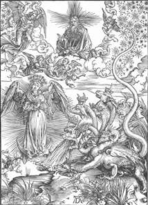 The Revelation of St John: 10. The Woman Clothed with the Sun and the Seven-headed Dragon)
