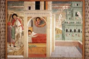 Scenes from the Life of St Francis (Scene 2, north wall)