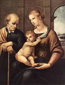 Madonna with Beardless St Joseph