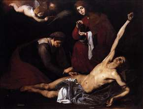 St Sebastian Tended by the Holy Women
