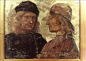 Self-Portrait with Vitelozzo Vitelli