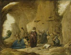 Temptation of St Antony