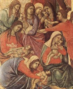 Slaughter of the Innocents (detail)