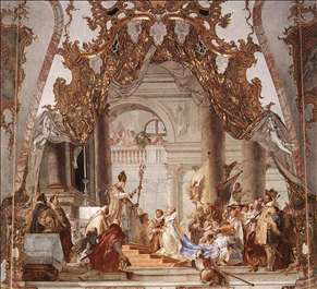 Tiepolo aeneas introducing cupid dating