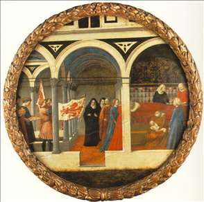 Plate of Nativity (Berlin Tondo)