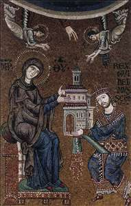 King William II Presenting the Virgin Mary with a Model of Monreale Cathedral