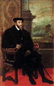 Portrait of Charles V Seated