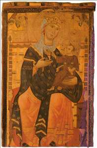 Madonna Enthroned with the Christ Child
