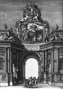 The Ceremonial Entry of Louis XIV and Marie-Thérèse into Paris in 1660
