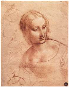 Study for Madonna with the Yarnwinder (?)