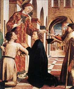 St Lawrence Distributing the Alms
