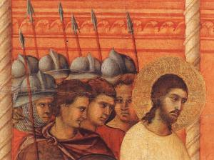 Christ Before Pilate Again (detail)