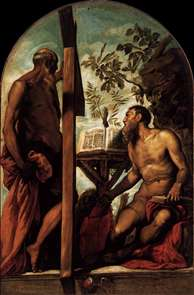 St Jerome and St Andrew