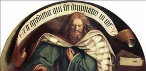 The Ghent Altarpiece: Prophet Micheas