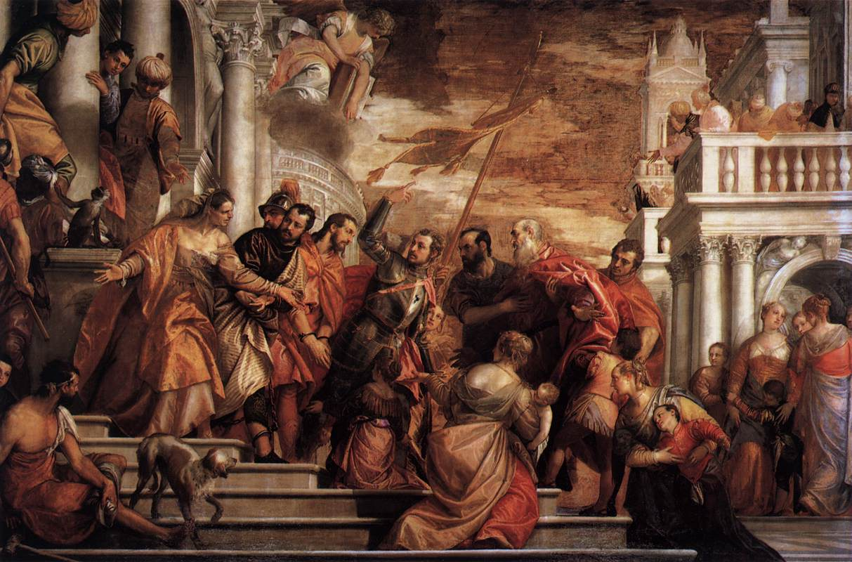 Sts Mark and Marcellinus Being Led to Martyrdom