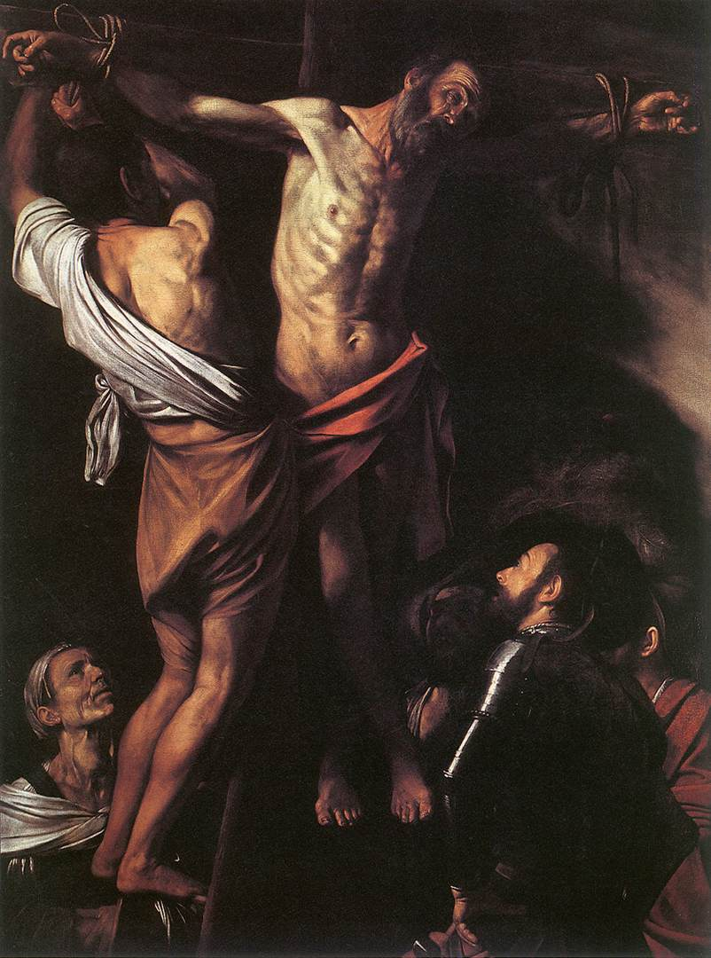 The Crucifixion of St Andrew