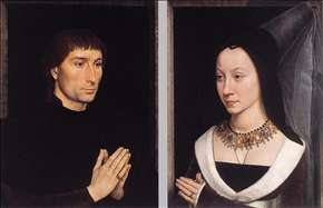 Tommaso Portinari and his Wife