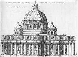 Project for St Peter's in Rome