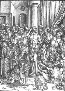 The Large Passion: 3. Flagellation of Christ
