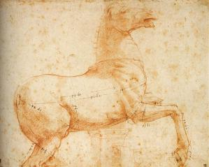 Study of a Sculpture of a Horse