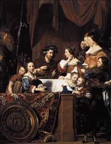 The de Bray Family (The Banquet of Antony and Cleopatra)