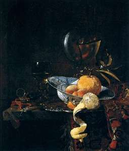 Still-Life with Porcelain and a Nautilus Cup