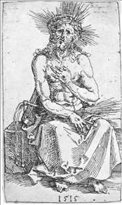 Man of Sorrows, Seated