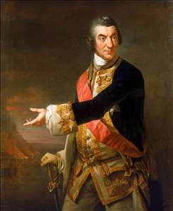 Portrait of Admiral Sir Charles Saunders
