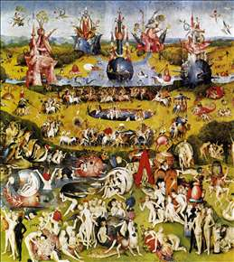 Triptych of Garden of Earthly Delights (central panel)