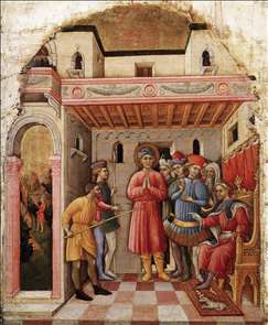 Martyrdom of St Mamete