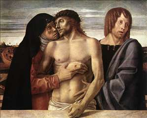 Dead Christ Supported by the Madonna and St John (Pietà)