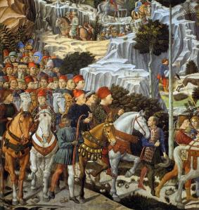 Procession of the Youngest King (detail)