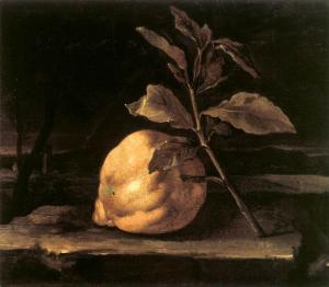 Large Citron in a Landscape