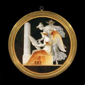 Cameo-style Plaque: The Conquest of Silesia