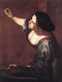 Self-Portrait as the Allegory of Painting