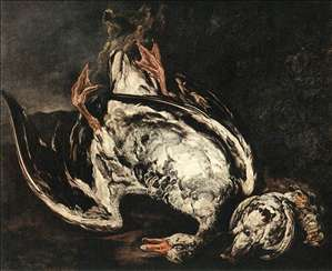 Still-Life with Dead Wild-Duck